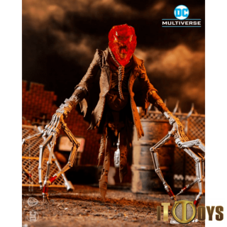 Mcfarlane DC Build-A 7 inch Figures Wave 3 Last Night On Earth  Scarecrow