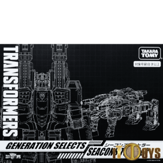 Transformers  Generation Selects  Seacons Turtler