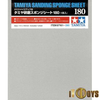 Tamiya #87161 Sanding Sponge Sheet 180