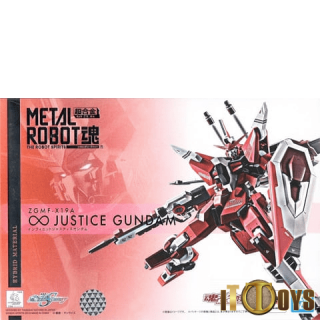 METAL ROBOT [SIDE MS] Gundam SEED Infinite Justice Gundam Damashii Robot Spirits