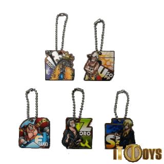 One Piece Keychains (5pcs Set)