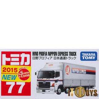 Tomica [077] Hino Profia Nippon Express Truck