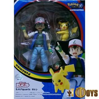 S.H.Figuarts  Pokemon  Ash