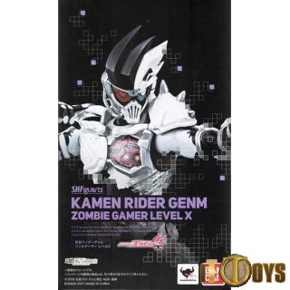 S.H.Figuarts  Masked Rider EX-AID  Kamen Rider Genm Zombie Gamer Level X
