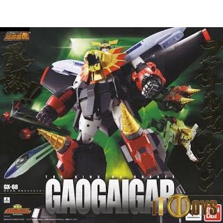 Soul of Chogokin GX-68  The King of Braves Gaogaigar Gaogaigar