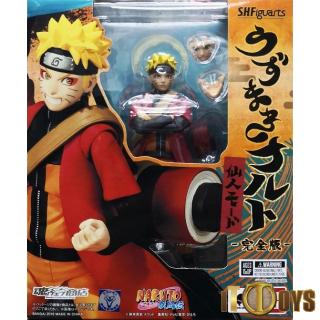 S.H.Figuarts  Naruto  Uzumaki Naruto Sennin Mode Complete Ver.