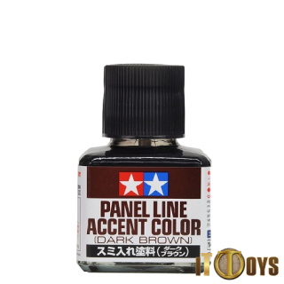 Tamiya Panel Line (40ml) Accent Color (Dark Brown)