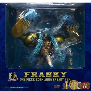 Figuarts ZERO One Piece Franky 20th Anniversary Ver.
