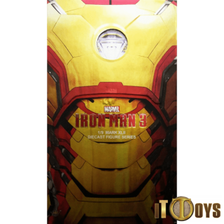 King Arts  1/9 Scale Diecast Figure Series Marvel  Iron Man 3 Mark XLII