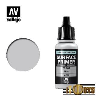 Vallejo Acrylic-Polyurethane (17ml)  74.601   Surface Primer (Grey)
