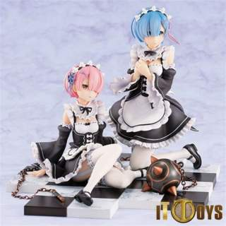 1/8 Scale Re:Zero Starting Life in Another World Rem & Ram Special Stand Complete Set Ver.
