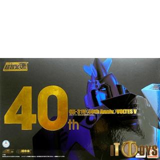 Soul of Chogokin GX-31V Choudenji Machine Voltes V Voltes V (40th Anniversary)