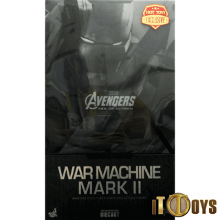 Hot Toys  1/6 Scale  MMS 290 010  Marvel Avengers Age of Ultron War Machine Mark II