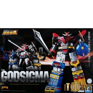 Soul of Chogokin GX-60R  Space Emperor God Sigma