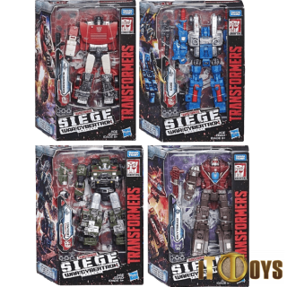 Transformers SEIGE War for Cybertron Deluxe Wave 1 (set of 4pcs)