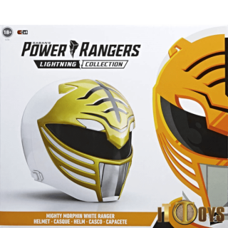 Power Rangers  Lightning Collection  White Ranger Helmet