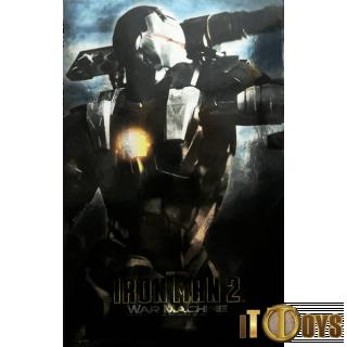 Hot Toys 1/6 Scale  MMS 120 Marvel Iron Man 2 Iron Man War Machine