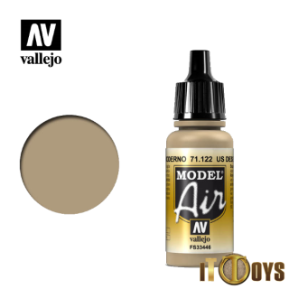 71.122 Vallejo Model Air (17ml) US Desert Armour 686