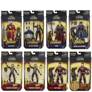Marvel Legends Avengers Build A Figure Cull Obsidian
