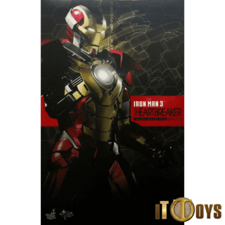Hot Toys 1/6 Scale  MMS 212 Marvel Iron Man 3 Iron Man Heartbreaker Mark XVII