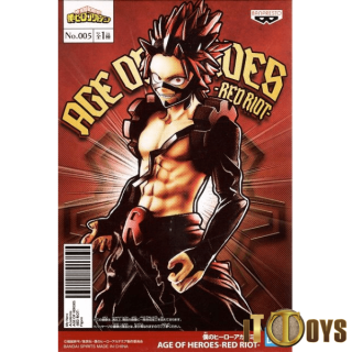 Prize Figure My Hero Academia Age Of Heroes Red Riot