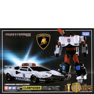 Transformers  Masterpiece MP-14C  Clampdown (Lamborghini Countach LP500S)
