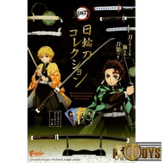 Demon Slayer Kimetsu No Yaiba Nichirin Swords Collection (10 pcs)