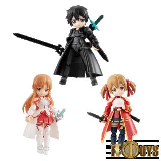 DESKTOP ARMY Sword Art Online  Kirito, Asuna & Silica