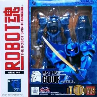 Robot Spirits [201] [SIDE MS] Mobile Suit Gundam MS-07B Gouf Gundam A.N.I.M.E Ver
