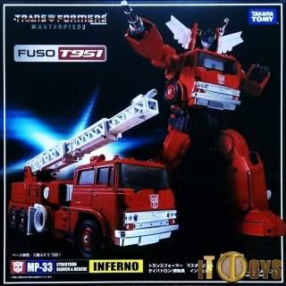 Transformers  Masterpiece MP-33  Inferno (Mitsubishi Fuso T951 Uk)