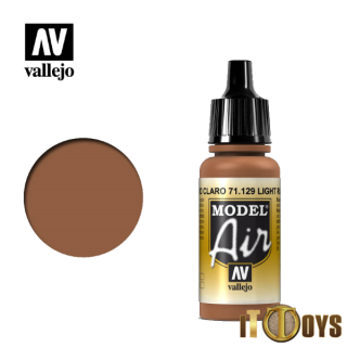 71.129 Vallejo Model Air (17ml) Light Rust