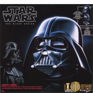 1/1 Scale Star Wars The Black Series Premium Electronic Helmet Darth Vader Helmet