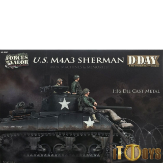 1/16 Scale  Forces of Valor  M4A3 Sherman