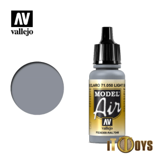 71.050 Vallejo Model Air (17ml) Light Gray