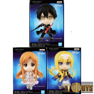 QPosket Petit  Sword Art Online: Alicization War of Underworld  Kirito, Asuna & Alice