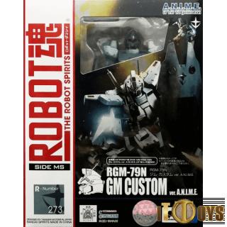 Robot Spirits [273]  Mobile Suit Gundam  RGM-79N GM Custom