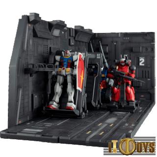 HGUC 1/144 Scale Realistic Model Series Mobile Suit Gundam White Base Catapult Deck