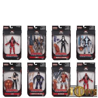 Marvel Legends  Build A Figure Sasquatch (8pcs)