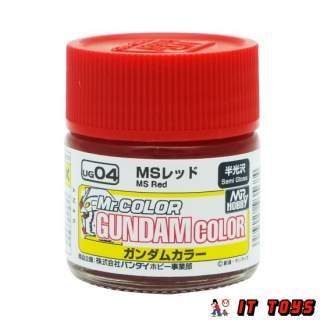 Mr.Color Gundam Color (10ml) - UG-04 MS Red