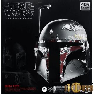 1/1 Scale Star Wars E5 Boba Fett Mandalorian Electronic Helmet
