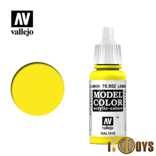 Vallejo Model Color (17ml)  [011] 70.952  Lemon Yellow