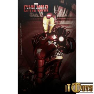 King Arts  1/9 Scale Diecast Figure Series  Marvel Captain Ameica (Civil War) DFS 041 Iron Man 3 Mark XLVI